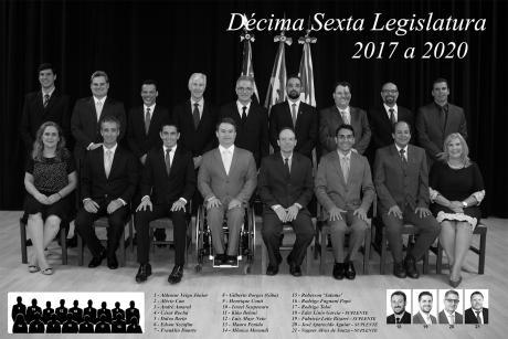16º Legislatura - 2017 - 2020 e Mesa Diretora