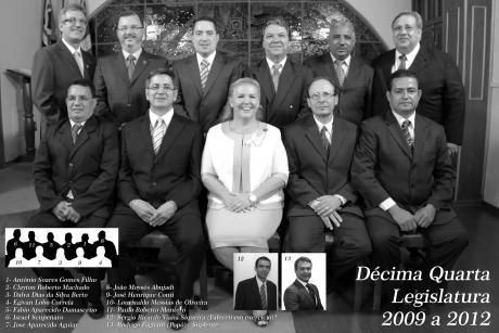 14º Legislatura - 2009 - 2012 e Mesa Diretora